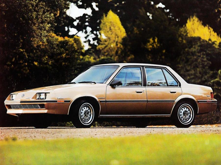 1986 Buick Skyhawk Limited Sedan