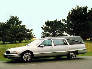 Buick Roadmaster Funeral Coach by Apollo 1992 года
