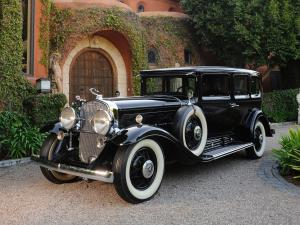 1930 Cadillac Series 452 V16 Armored Imperial Sedan by Fleetwood