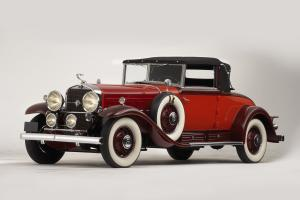 Cadillac Series 452 V16 Convertible Coupe by Fleetwood 1930 года