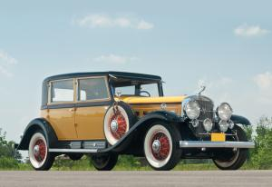 1930 Cadillac Sixteen Madame X Club Sedan by Fleetwood