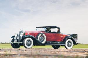 1930 Cadillac Sixteen Roadster by Fleetwood