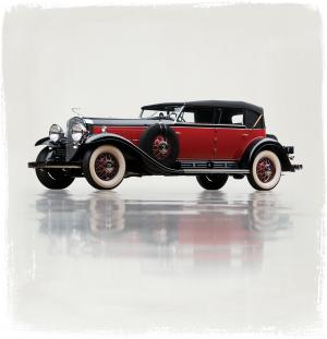1930 Cadillac V16 452 All-Weather Phaeton by Murphy