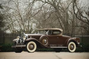 1931 Cadillac V16 Roadster by Fleetwood
