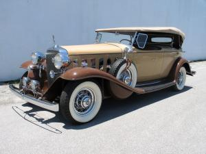 1932 Cadillac 370B V12 Sport Phaeton by Fisher