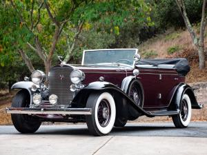 1932 Cadillac Series 452-B V16 All Weather Phaeton by Fisher
