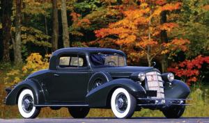 1934 Cadillac Model 355D Sport Coupe