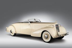 1934 Cadillac Series 90 V16 Roadster by Roxas