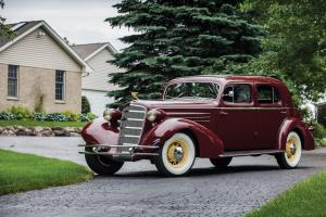 1934 Cadillac V12 370-D Town Sedan by Fleetwood