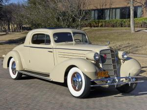 1934 Cadillac V8 355-D Stationary Coupe by Fleetwood