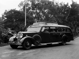 Cadillac Series 353 V8 Bus by Crawley Ridley 1935 года