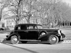 1935 Cadillac Series 355-D Series 10 V8 5-Passenger Sedan by Fisher