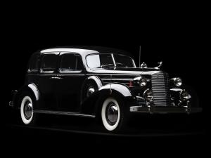 1936 Cadillac Series 75 V8 5-Passenger Touring Sedan by Fleetwood
