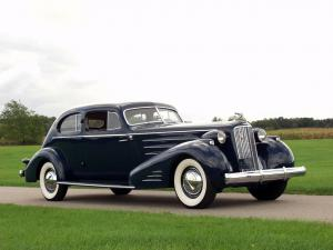 1936 Cadillac Series 90 V16 Aerodynamic Coupe by Fleetwood