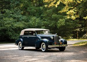 Cadillac Series 75 Convertible Sedan by Fleetwood 1937 года
