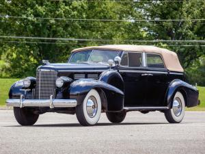 1938 Cadillac Series 75 V8 Convertible Sedan by Fleetwood