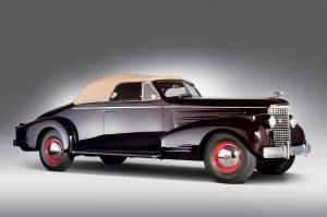 Cadillac Series 90 V16 Convertible Coupe 1938 года