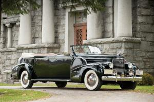 1938 Cadillac V16 Presidential Convertible Parade Limousine by Fleetwood