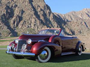 Cadillac Series 62 Convertible Coupe 1940 года