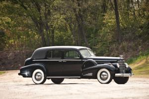 1940 Cadillac V16 7-Passenger Formal Sedan by Fleetwood