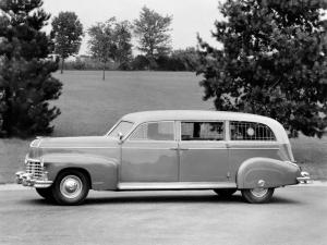 Cadillac Arlington Ambulance by Sayers & Scovill 1946 года