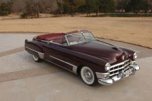 Cadillac Series 62 Convertible Coupe 1949 года