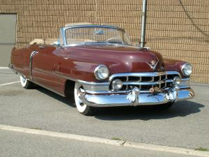 Cadillac Series 62 Convertible 1950 года