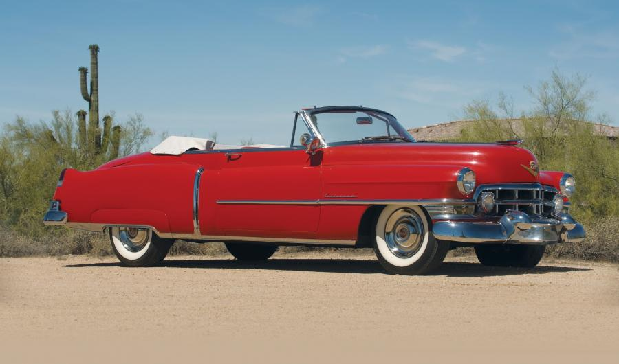 1952 Cadillac Series 62 Convertible Coupe