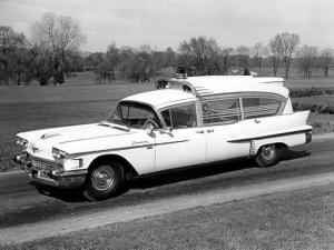 Cadillac Superior Rescuer Ambulance 1958 года