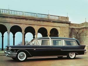 Cadillac Superline Park Hill Combination by Sayers & Scovill 1958 года