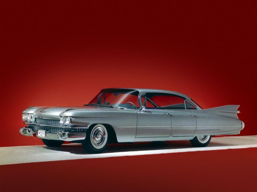 1959 Cadillac Series 62 6-Window Hardtop