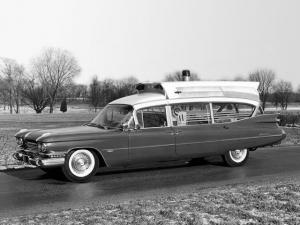 1959 Cadillac Superior Royale Rescuer Ambulance