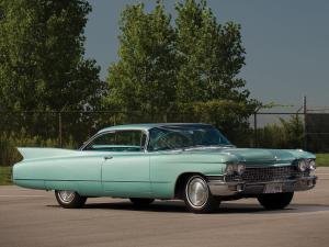 1960 Cadillac DeVille Sixty-Two Coupe