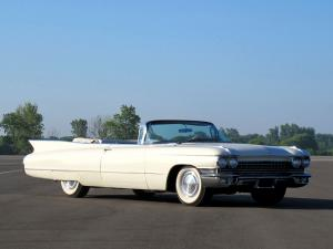 Cadillac Series 62 Convertible 1960 года