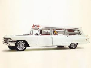 1962 Cadillac Superline Parkway Ambulance by Sayers & Scovill