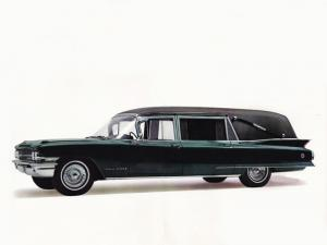 Cadillac Superline Victoria Hearse by Sayers & Scovill 1962 года