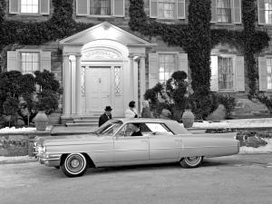 Cadillac Series 62 4-Window Hardtop Sedan 1963 года