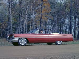Cadillac Series 62 Convertible 1963 года