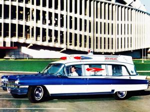 Cadillac Superior Rescuer Ambulance 1963 года