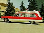 Cadillac Superior Rescuer Ambulance 1965 года