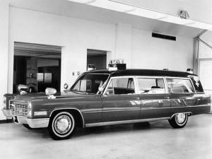 1966 Cadillac Miller-Meteor Classic 42 Ambulance