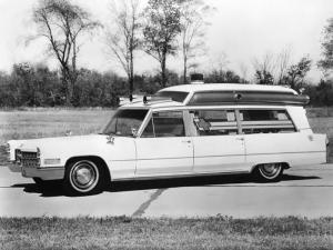 1966 Cadillac Professional High Body Ambulance by Sayers & Scovill