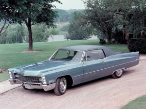Cadillac Coupe DeVille 1967 года