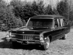 Cadillac Victoria Hearse by Sayers & Scovill 1967 года