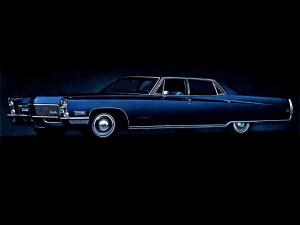 1968 Cadillac Fleetwood Sixty Special