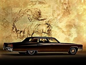 Cadillac Fleetwood Sixty Special 1969 года