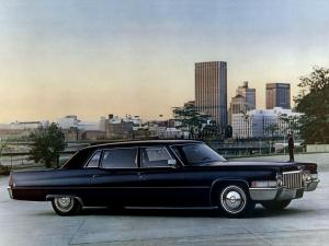 Cadillac Fleetwood Seventy-Five 1970 года