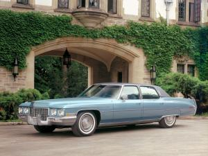 Cadillac Fleetwood Sixty Special Brougham 1971 года