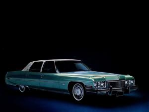 Cadillac Fleetwood Sixty Special Brougham 1973 года
