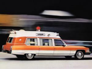1974 Cadillac 54 Ambulance by Superior